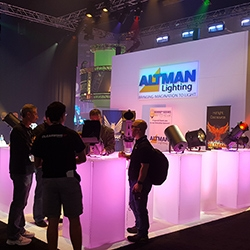 Altman Booth at LDI 2015.