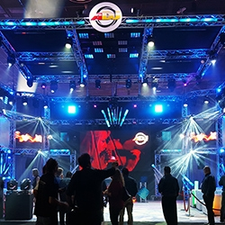 American DJ Booth at LDI 2015