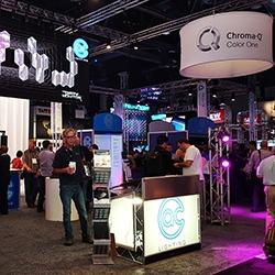 Chroma-Q Booth at LDI 2015