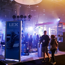 Lex booth at LDI 2015