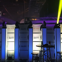 Omez Lighting Booth at LDI 2015