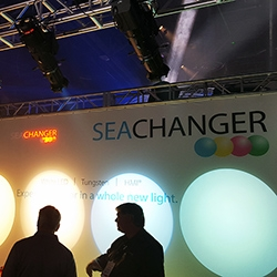 SeaChanger Booth at LDI 2015