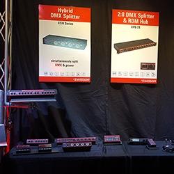 Swisson Booth at LDI 2015