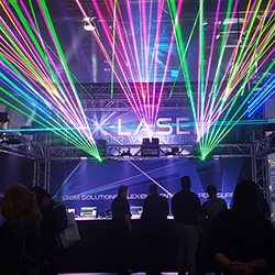X-Laser Booth at LDI 2015