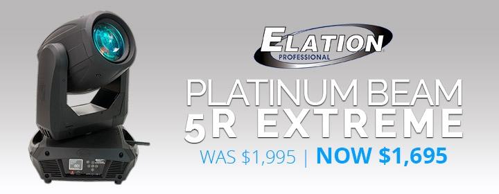 Elation Platinum Beam 5R Extreme